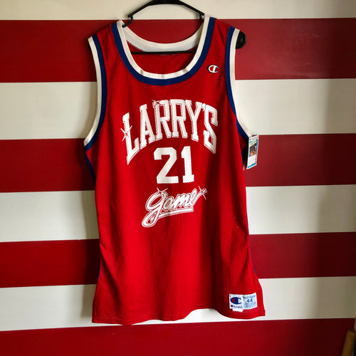 1990 Larry's Game Charity Event Sydney Green Champion Brand Jersey