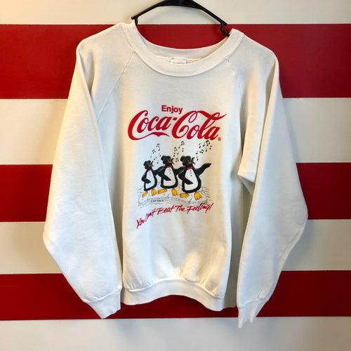 1988 Coca Cola 'You Can't Beat The Feeling' Sweatshirt