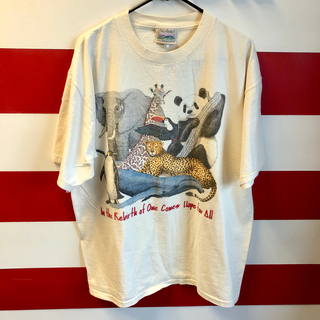 90s In The Rebirth Of One Comes Hope For All Animals Shirt