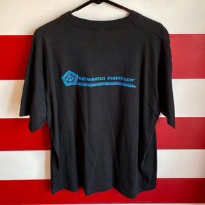 90s Heavy Mental Mathematics Pentathlon Shirt