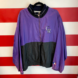 90s Colorado Rockies Windbreaker