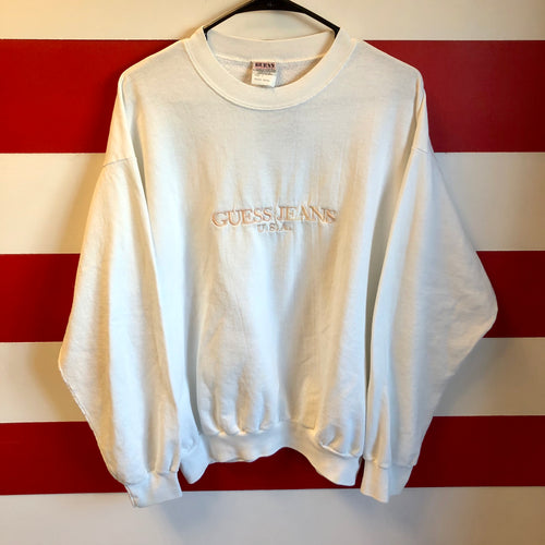 90s Guess Jeans USA Spellout Sweatshirt