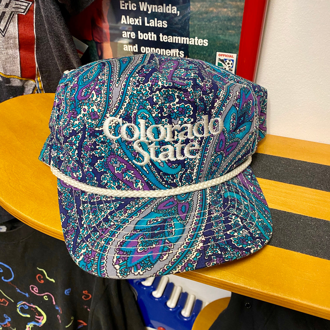 90s Colorado State Paisley Snapback Hat