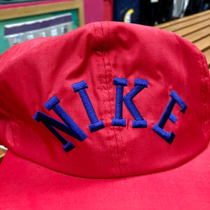 90s Nike Arch Spellout Nylon Snapback Hat