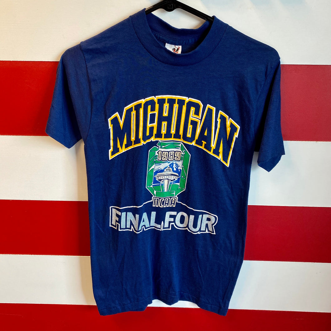 1989 Michigan NCAA Final Four Shirt