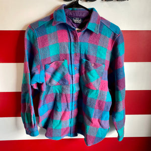 80s Woolrich Plaid Flannel