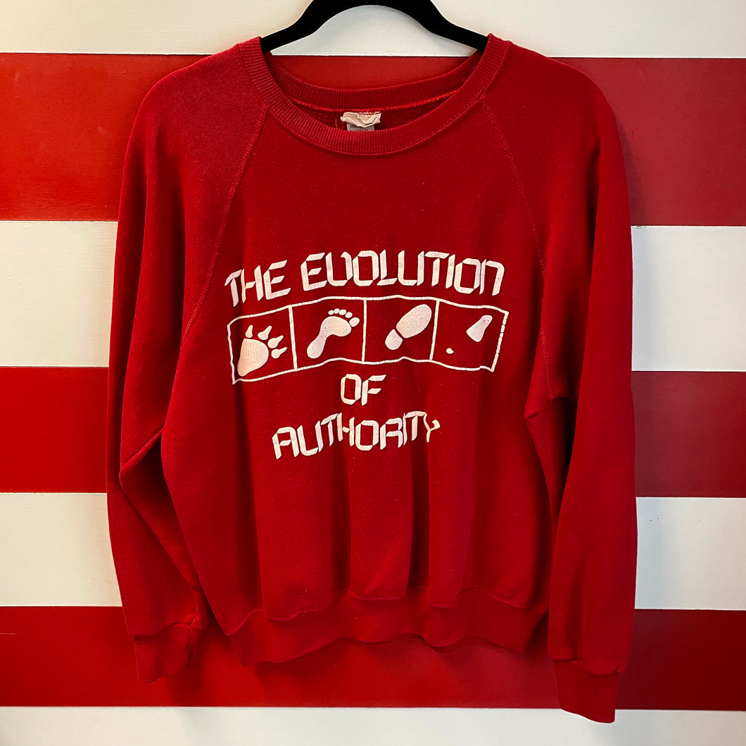 90s The Evolution of Authority Sweatshirt