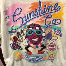 1987 The California Raisins 'Sunshine Co.' Grapevine Paradise Shirt