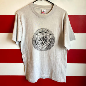 90s Reed College Seal 'Communism, Atheism & Free Love' Shirt