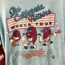 1987 The California Raisins Sold Out World Tour Shirt