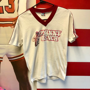 1977 Johnny Bench Warmup Shirt