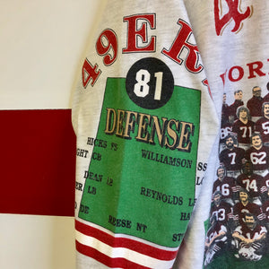 1991 San Francisco 49ers '1981 World Champions' Long Gone Brand 3/4 Sleeve Shirt