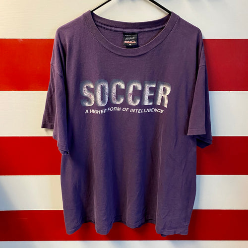 90s Soccer A Higher Form of Intelligence Shirt