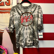 1990 Slayer Brockum Licensed Promo Tie Dye Shirt