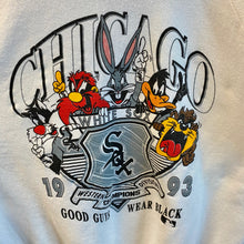 1993 Chicago White Sox 'Good Guys Wear Black' Looney Tunes Sweatshirt