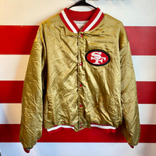 90s SF 49ers Satin Jacket
