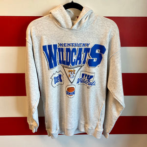90s Kentucky Wildcats Hooded Sweatshirt