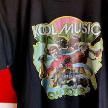 80s Kool Music On Tour Kool Cigarettes Shirt
