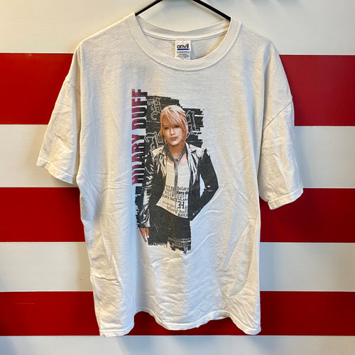 2004 Hilary Duff Most Wanted Tour Shirt