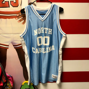 90s University of North Carolina Tar Heels Montross #00 DeLong Brand Jersey