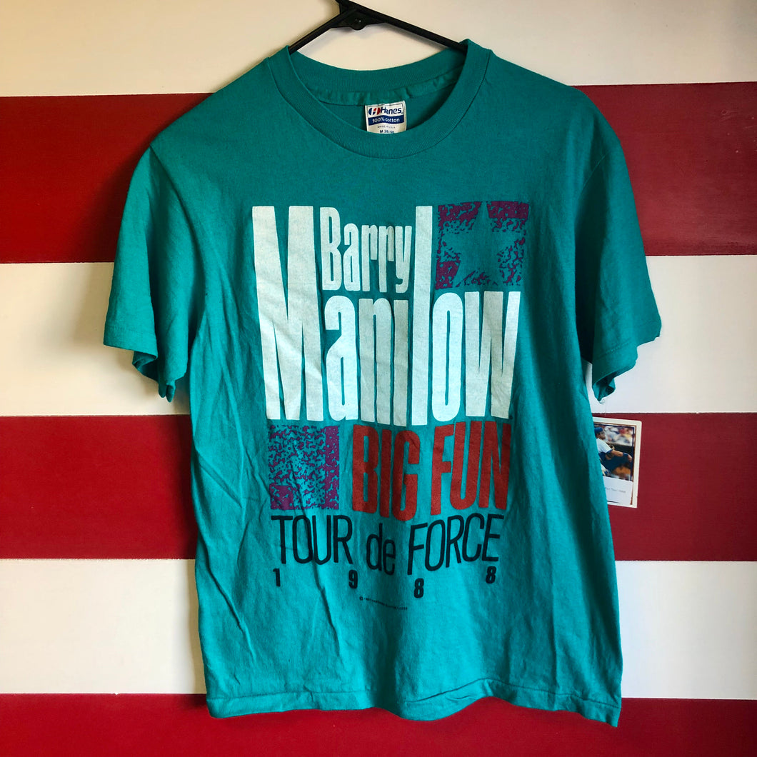 1988 Barry Manilow 'Big Fun' Tour De Force Shirt