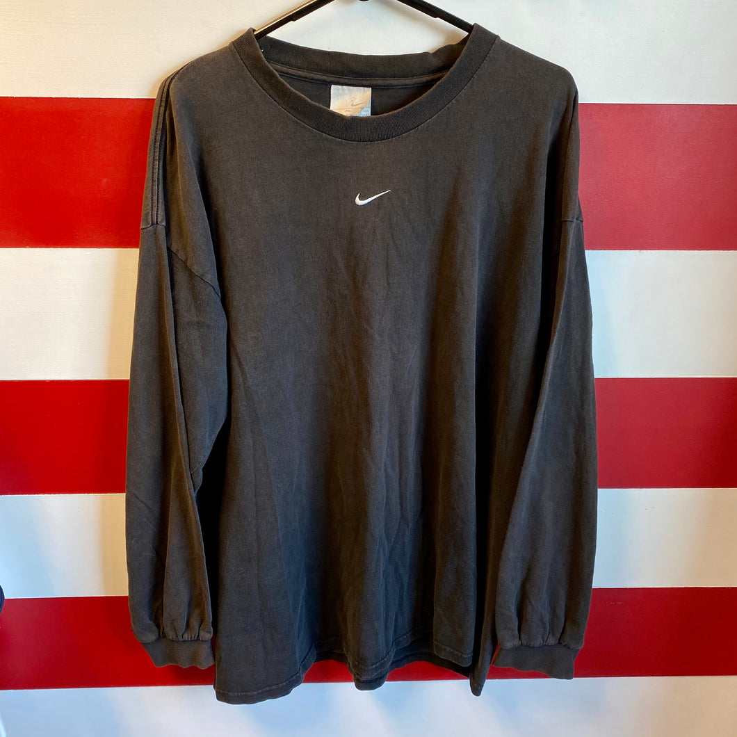 Early 2000s Nike Center Swoosh Longsleeve Shirt