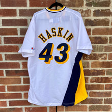 1993 Scott Haskin Pacers Team Issued Champion Warm Up Shirt
