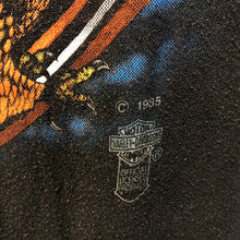1985 Harley Davidson Eagle Palm Beach 3D Emblem Shirt