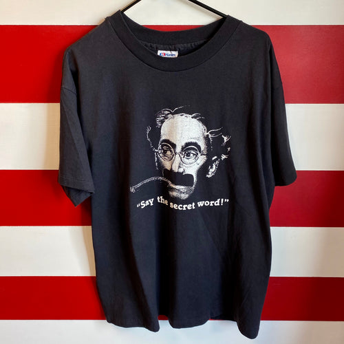 1985 Groucho Marx 'Say The Secret Word!' Shirt