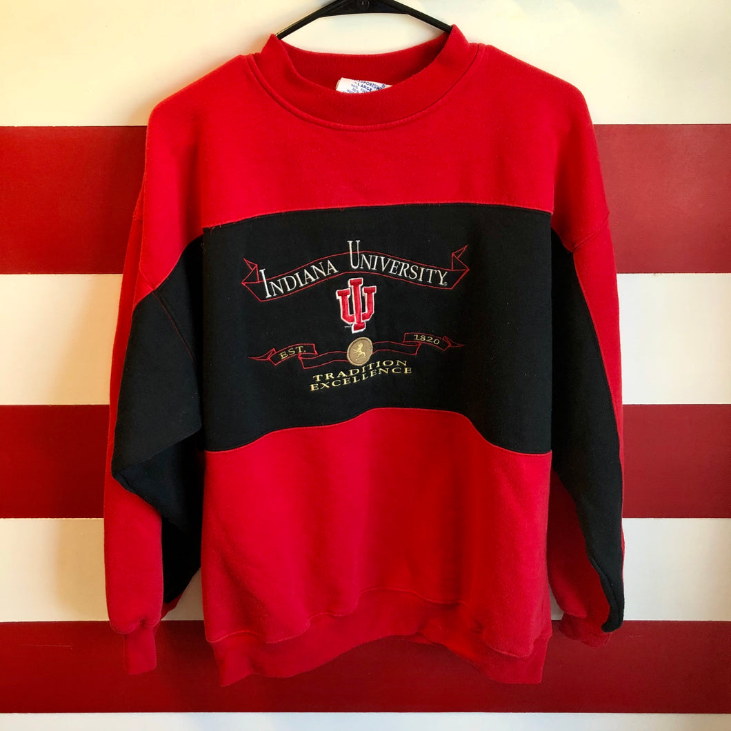 90s Indiana University Tradition Excellence Sweatshirt