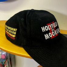 1997 Holyfield Vs. Moorer II Heavyweight Championship Wmbroidered Mirage Snapback Hat (DS)