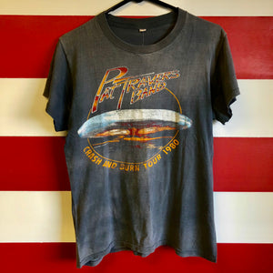 1980 Pat Travers Band 'Crash And Burn Tour' Shirt