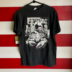 1990 Scorpions 'Tease Me Please Me' Tour Shirt