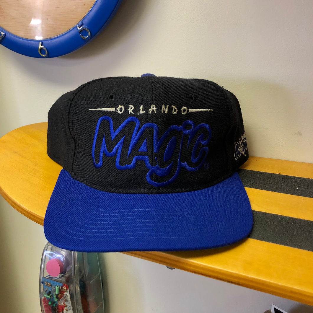 90s Orlando Magic Spellout Starter Snapback Hat