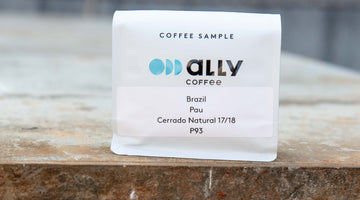 Green Coffee Sample Types and Terms