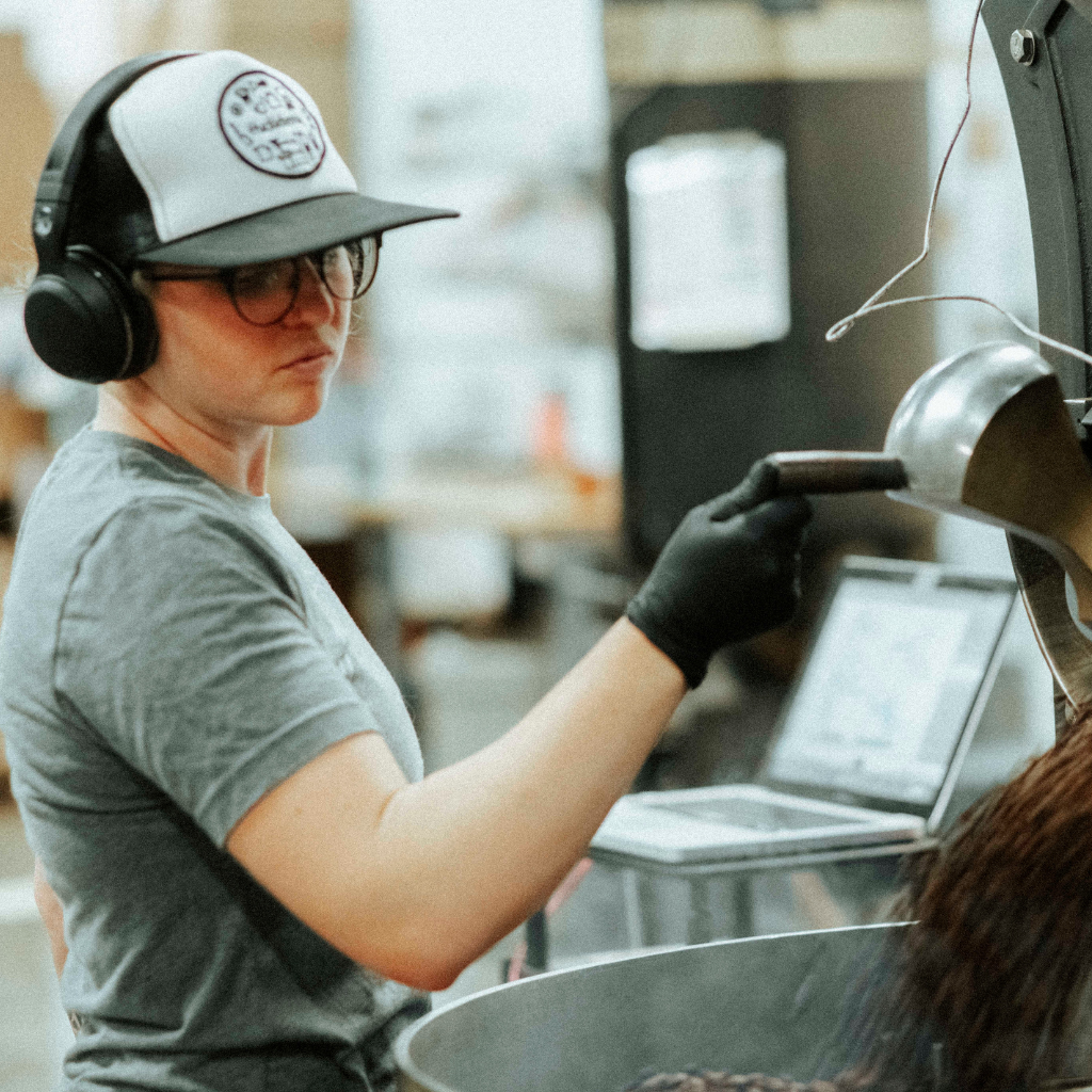 Shelby Williamson, Roaster at Huckleberry Roasters