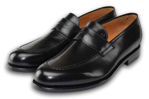 Penny Loafer  - CHARCOAL BLACK