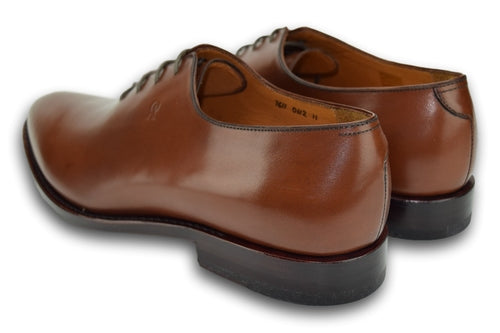 Lace-up - COGNAC BROWN
