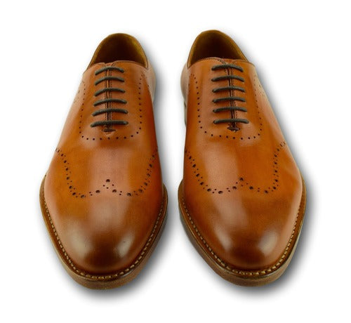 Detailed Lace up - Savannah Saddle Tan