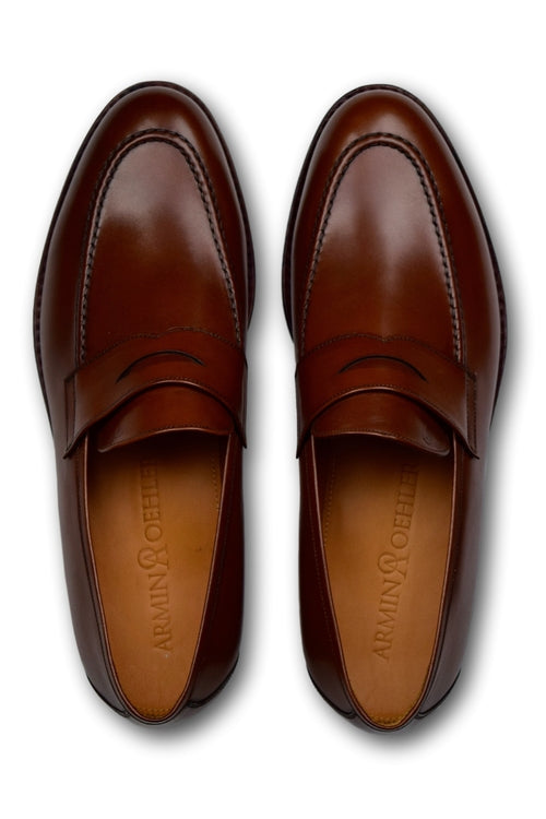 Penny Loafers- COGNAC BROWN