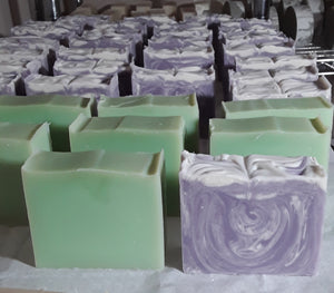 Lavender Soap, Natural Soap Bars for men, Simplicity Soaps,