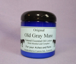 Old Gray Mare Essential Oil Lotion