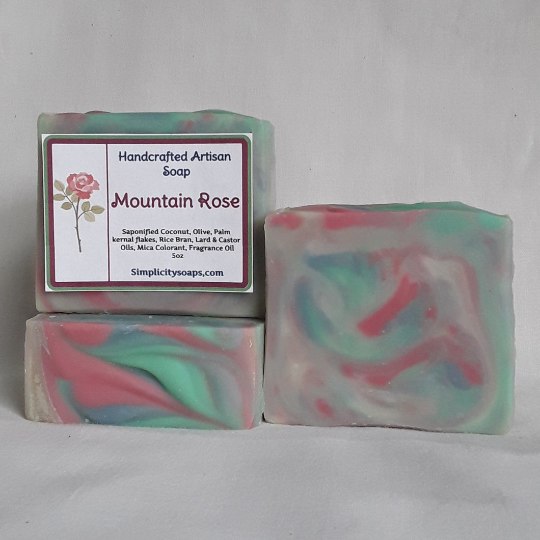 Mountain Rose Soap, Natural Soap,
