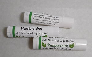 Humble Bee Natural Lip Balm