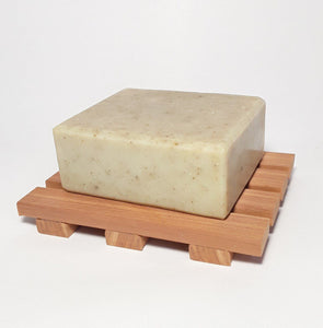 Cedar Soap Deck, Wood Soap Dish , Simplicity Soaps cedar soap deck, natural soap dish