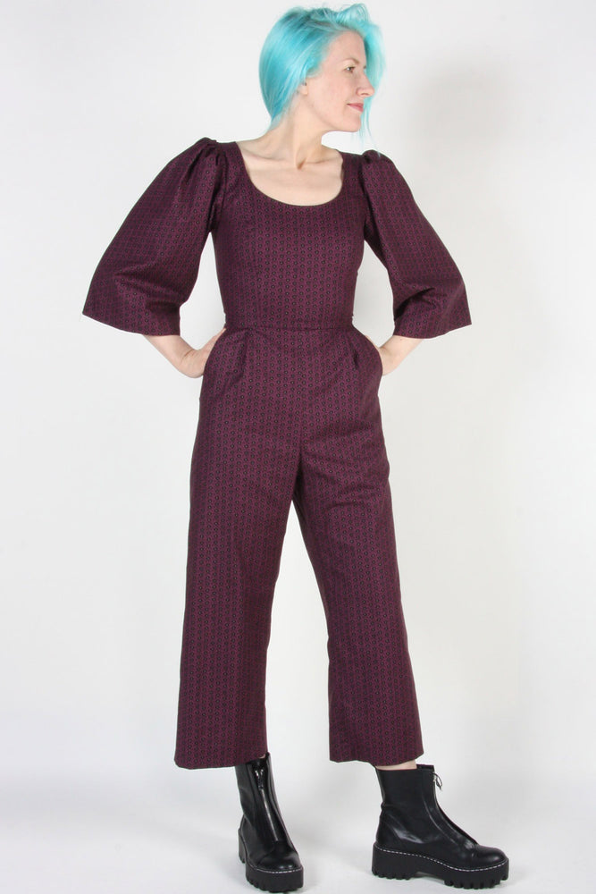 Load image into Gallery viewer, Dickcissel Jumpsuit - Shadow Plum