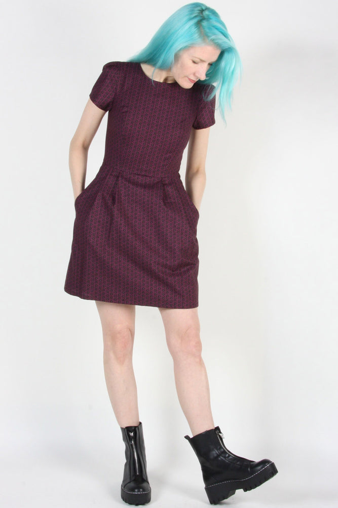 Engoulevent Dress – Shadow Plum