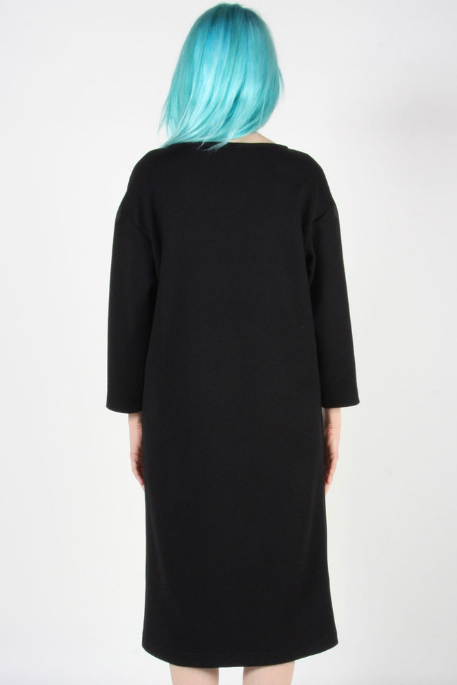 Synallaxe Dress - Black