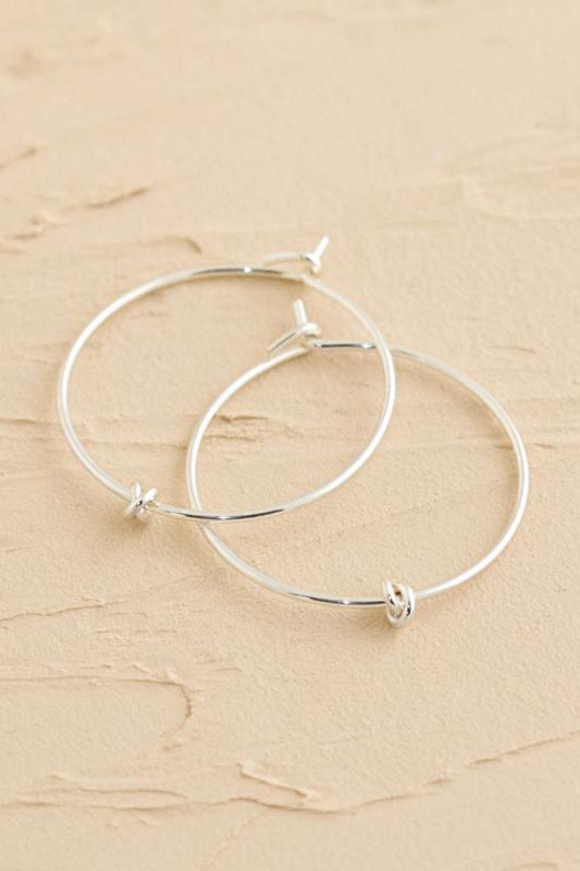 Prelude Silver Hoops