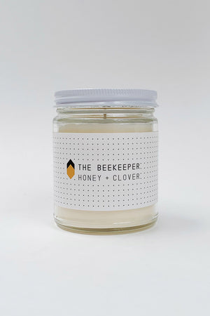 Load image into Gallery viewer, Beekeeper Glass Candle